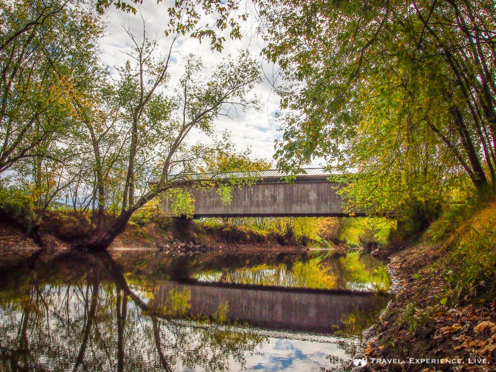 Covered Bridges of Vermont: Gorham Bridge
