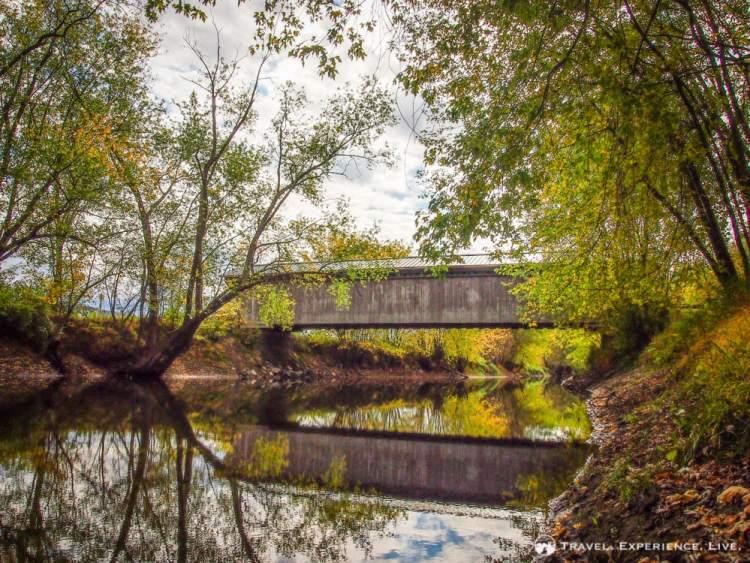 Covered Bridges of Vermont: Gorham Bridge
