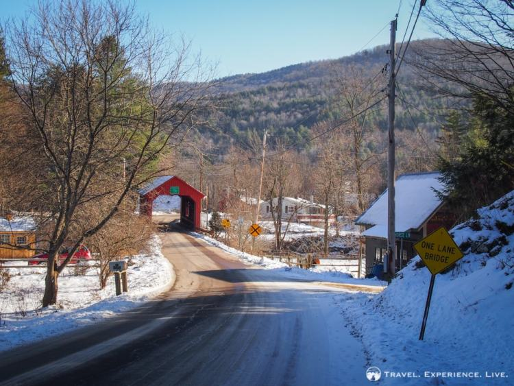 Newell Covered Bridge, Northfield, Vermont