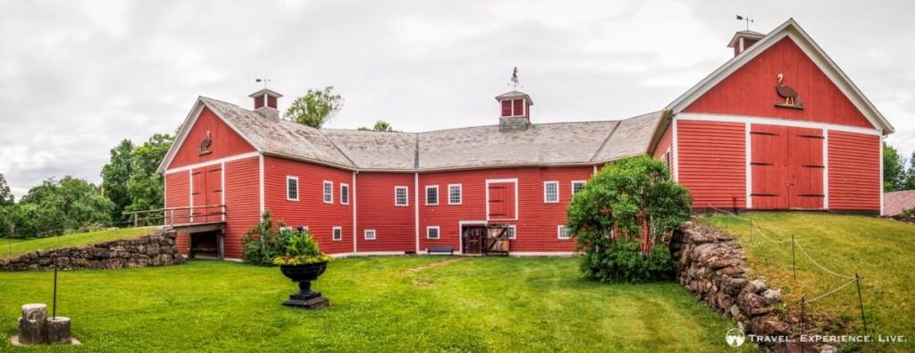 Horseshoe barn in Shelburne Museum, Vermont