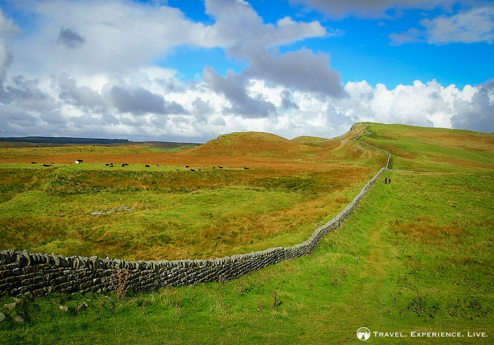 Sunny Skies on the Hadrian's Wall Path