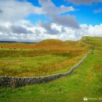 Walking the Hadrian's Wall Path, Northumberland National Park