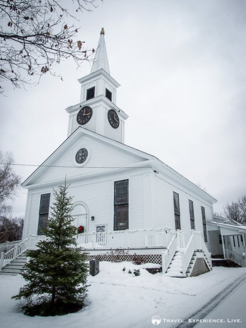 Church in East Thetford, Vermont