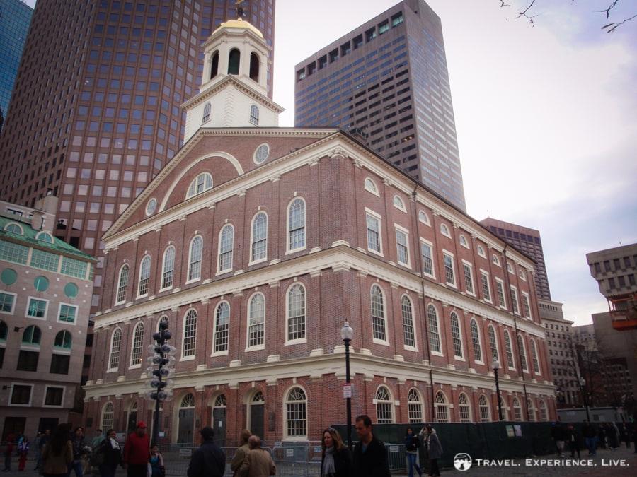 Faneuil Hall, Boston, MA