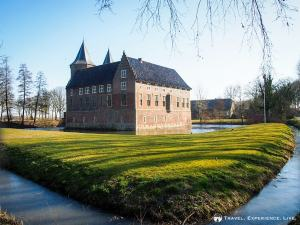 Castle next to the B&B in Dussen, the Netherlands