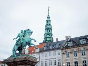 Statue of Absalon in Copenhagen, Denmark
