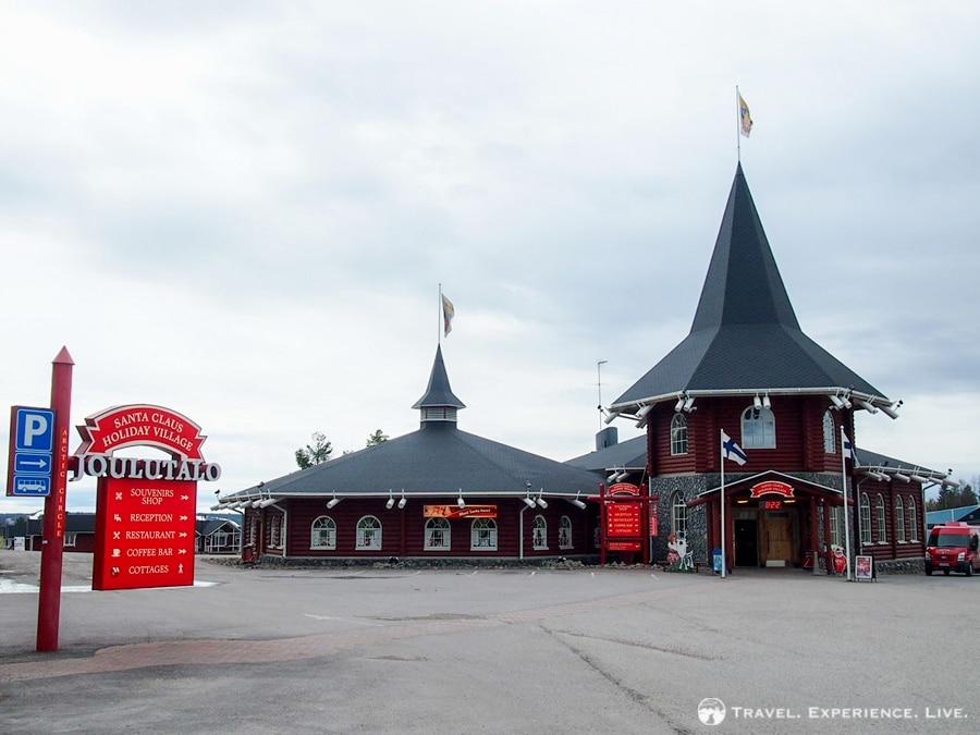 Part of Santa Claus Village, Rovaniemi