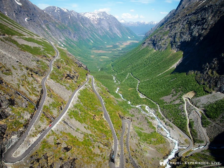 The magically beautiful Trollstigen, Norway