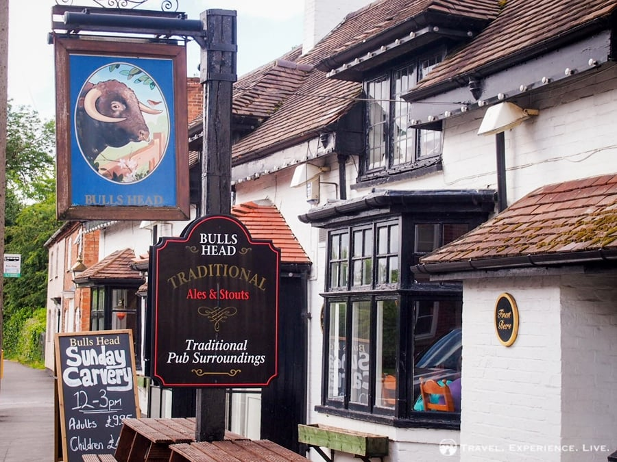 I spent two nights in the Bulls Head Inn in Brinklow, England