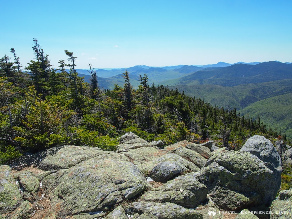 View from the Mount Webster summit