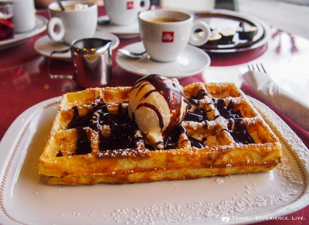 Essential Activities to do in Belgium: Belgian waffle and chocolate
