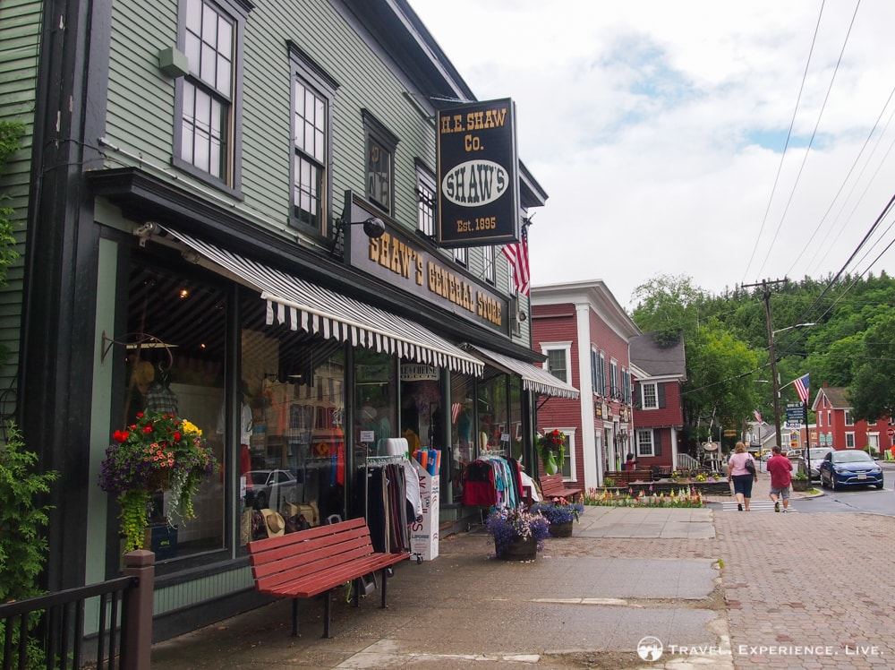 General store in Stowe, Vermont