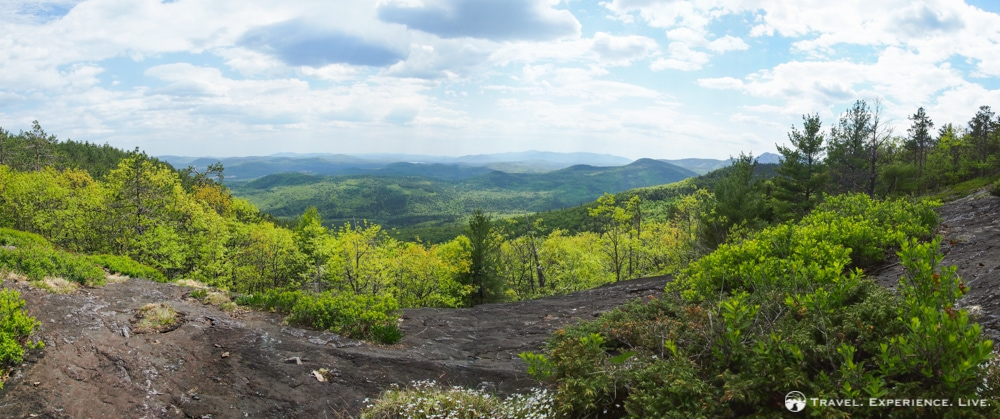 Panorama of the Swift River Valley, New Hampshire