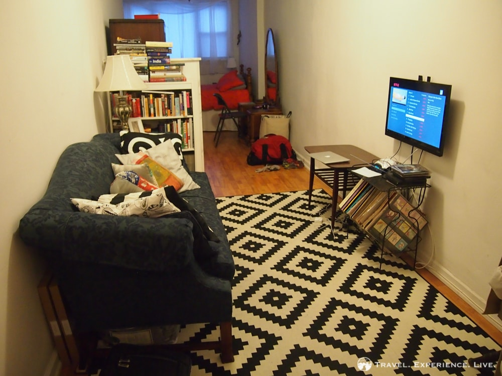 Airbnb apartment in Brooklyn