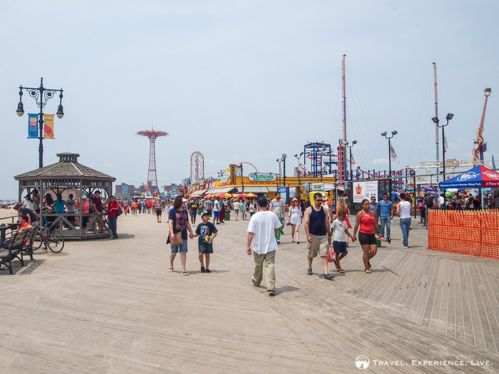 4th of July in New York City: Coney Island Boardwalk