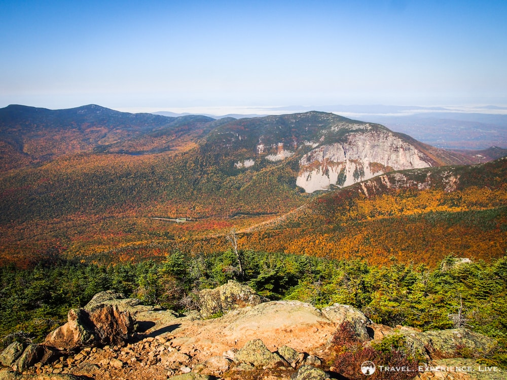 Franconia Notch in Fall, White Mountains