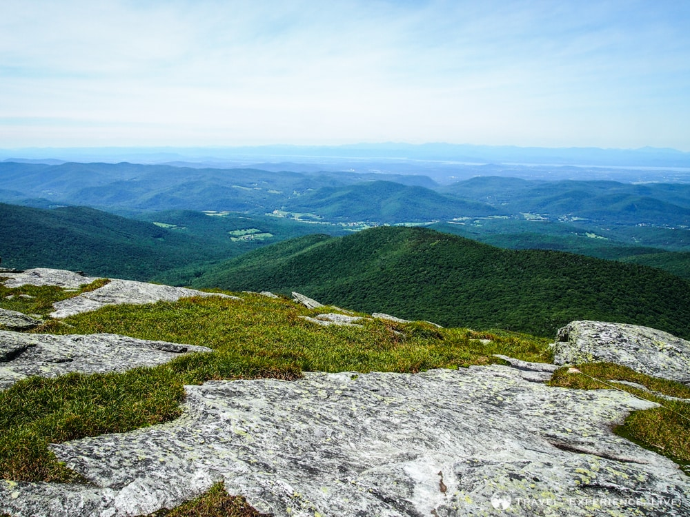 View from Camel's Hump, Vermont