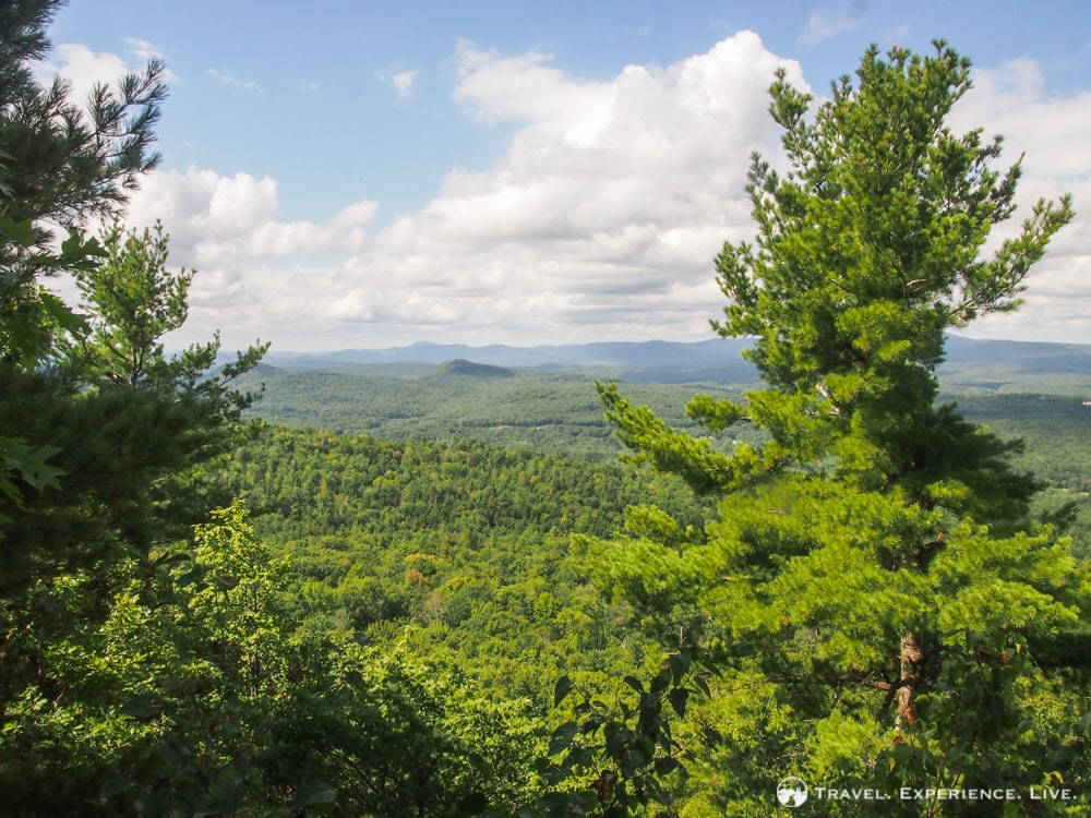 Hiking Mount Kearsarge, New Hampshire: Baker's Ledge