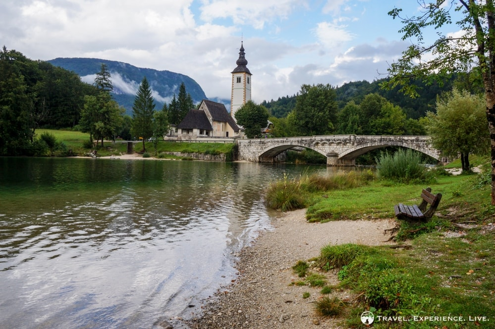 Church of St. John the Baptist, Bohinj, Slovenia