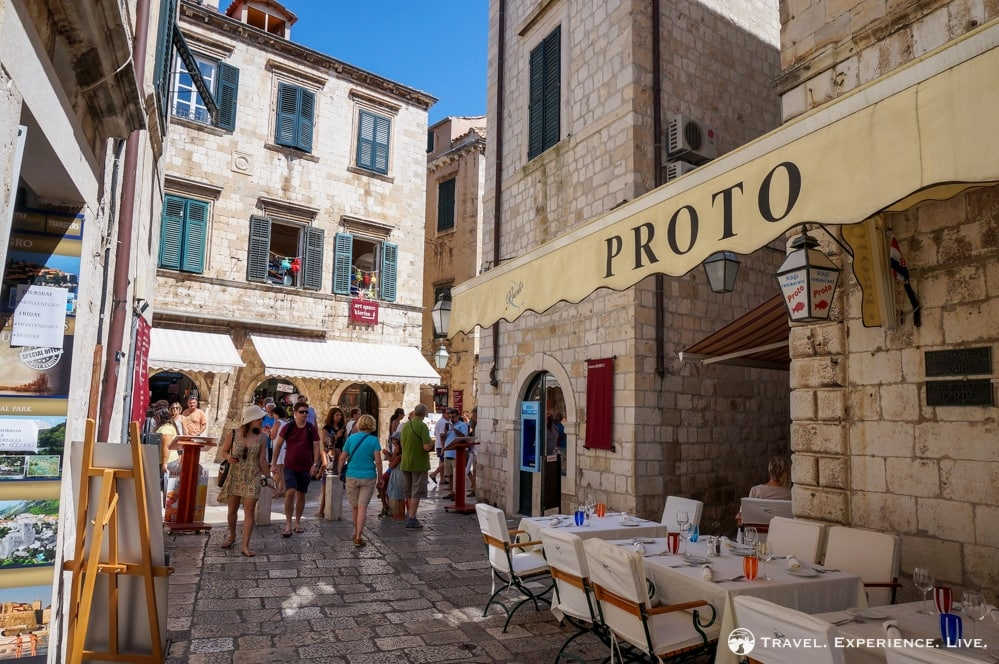 Three Days in Dubrovnik: Proto Restaurant, Dubrovnik