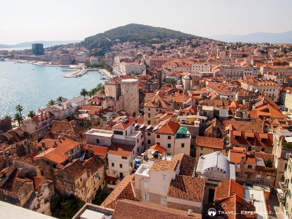 View from the Cathedral of St. Domnius, Split