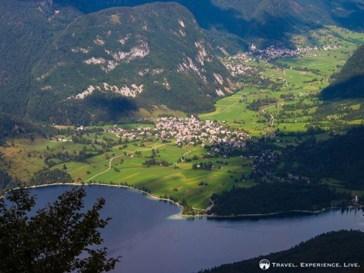 Bohinj Valley seen from Vogel Ski Center