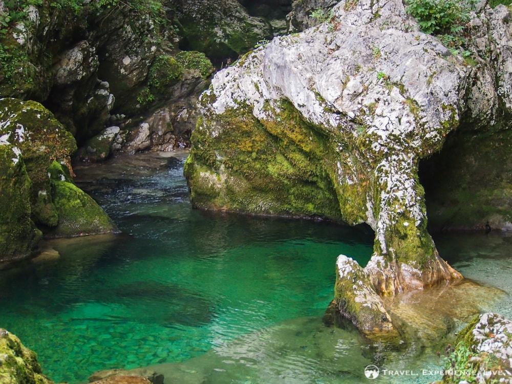 Elephant Rock in Mostnica Gorge