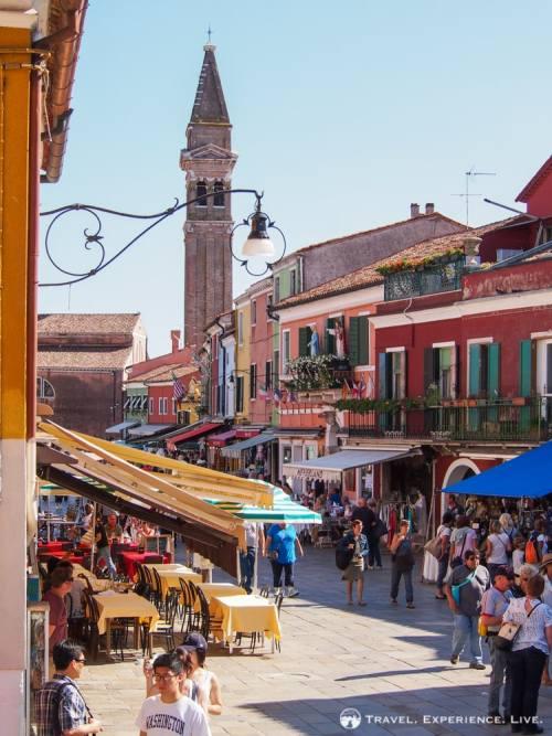 Visit Burano, Venice, Italy