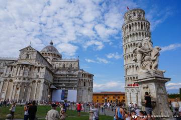 Day Trip to Pisa: Leaning Tower of Pisa and the Statue of the Three Angels