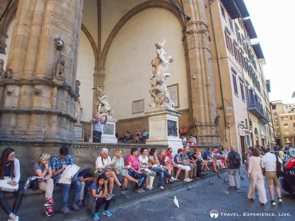 Loggia dei Lanzi, Florence in One Day