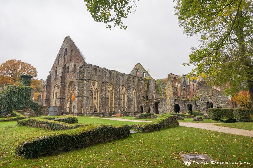 Ruins in Villers-la-Ville, Belgium