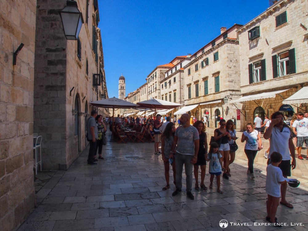 Three Days in Dubrovnik: Stradun in Dubrovnik