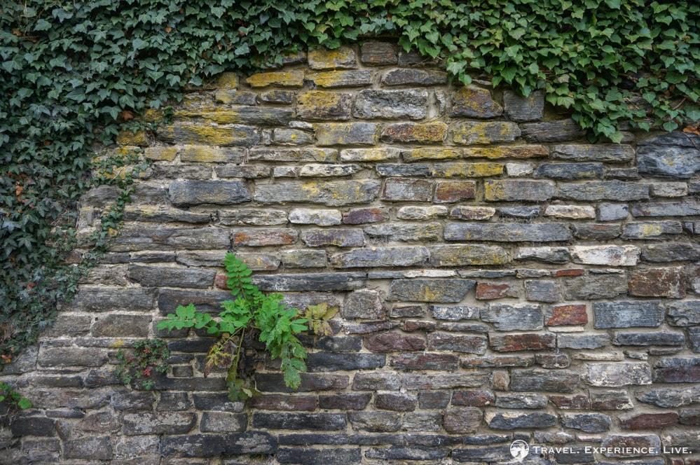 Wall in Villers-la-Ville, Belgium