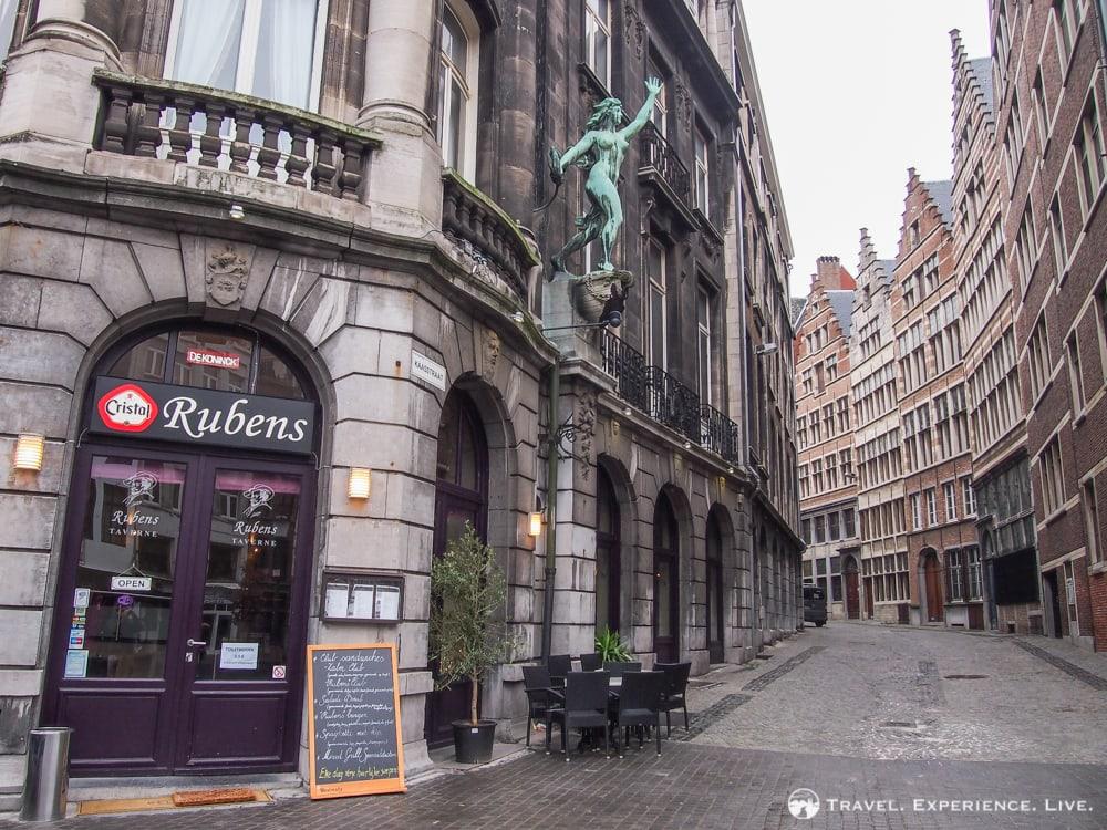 Café in Antwerp, Belgium