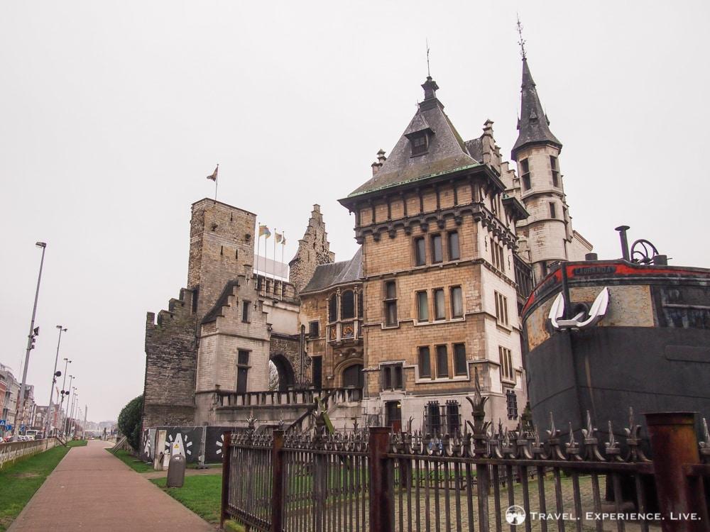 Castle Het Steen in Antwerp, Belgium