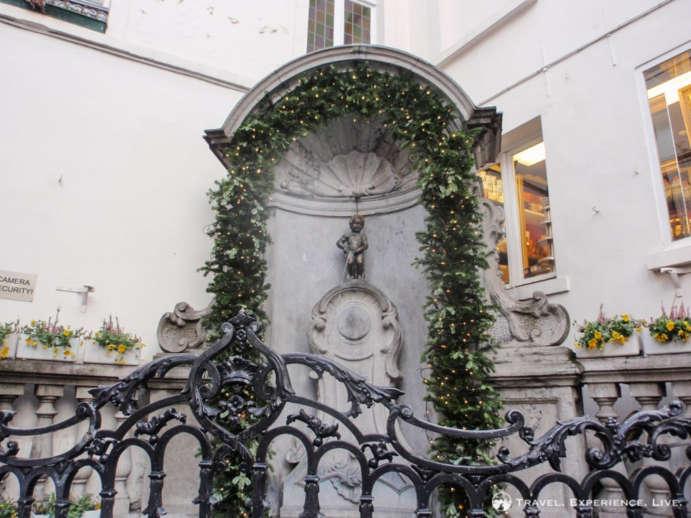 Main attractions in Brussels: Manneken Pis