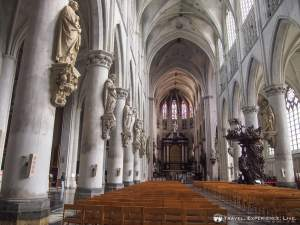 Interior of St. Rumbold's Cathedral, Mechelen