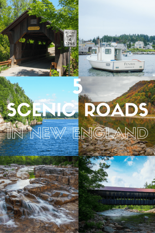 5 Scenic Roads in New England