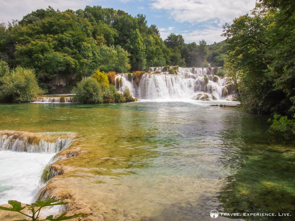 Cascades in Krka National Park, Croatia