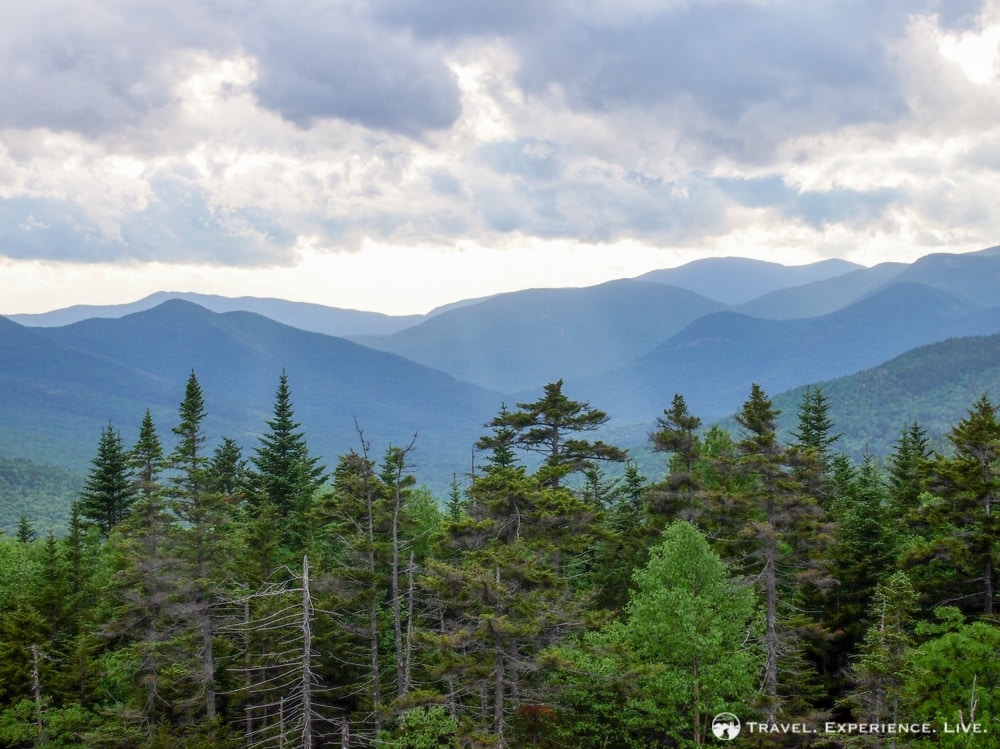 Landscape in the White Mountains, New Hampshire