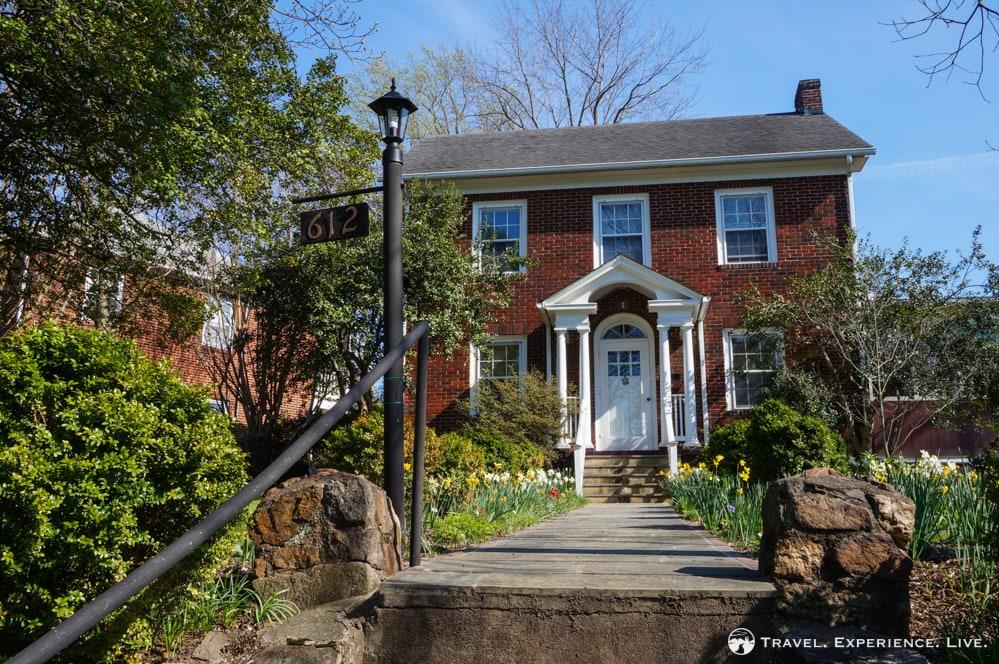 Beautiful brick house in Charlottesville, Virginia