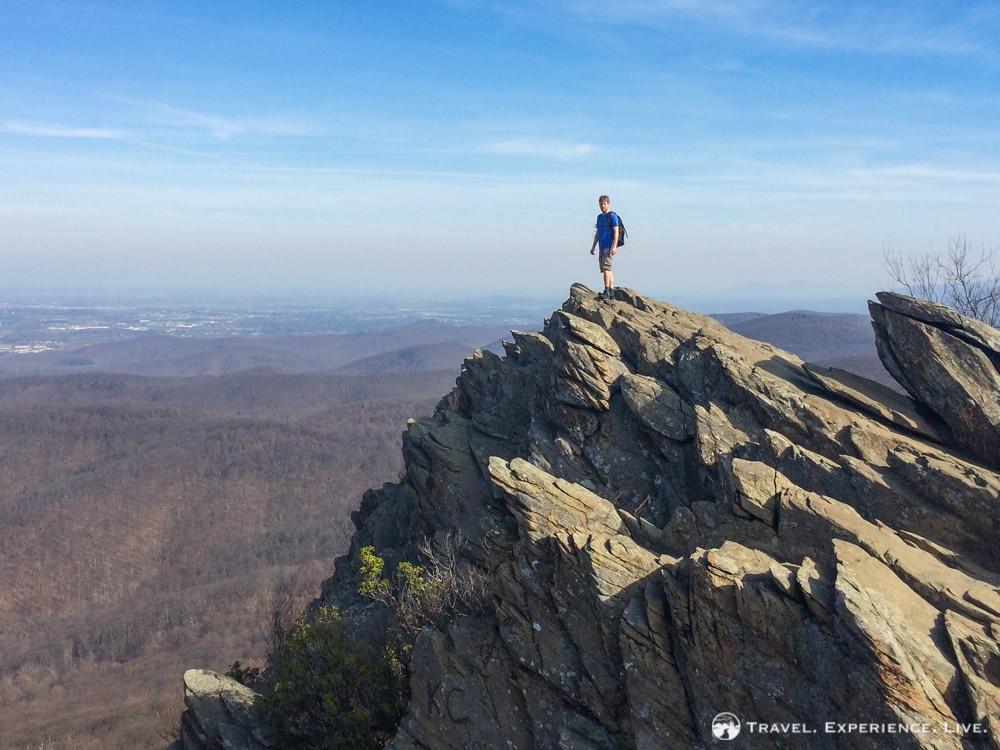 Bram at Humpback Rocks, Virginia