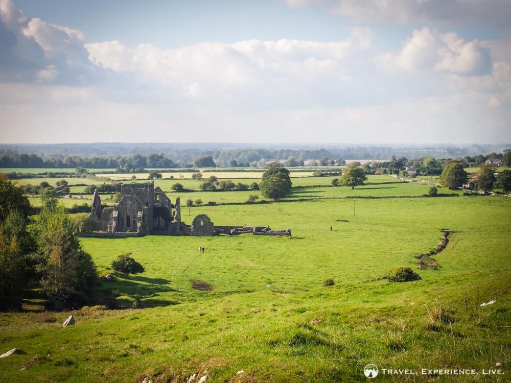Abbey ruins in Ireland