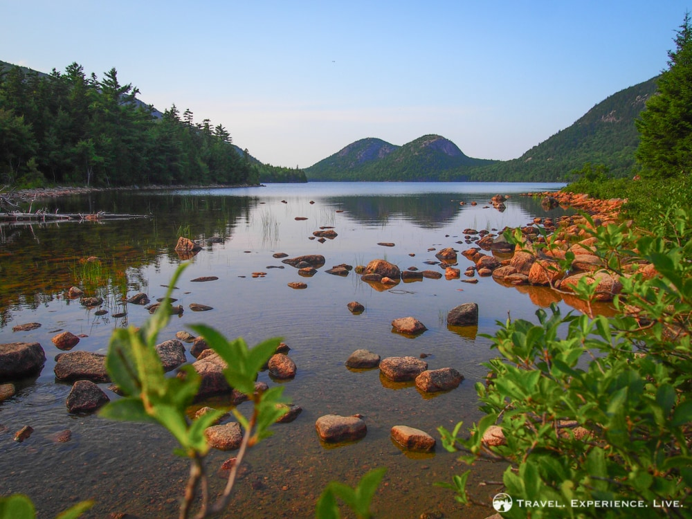 Bubbles and Jordan Pond, Acadia National Park
