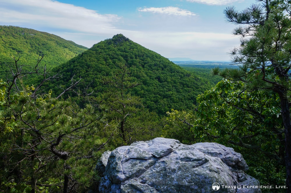 Conical mountain, Shenandoah National Park