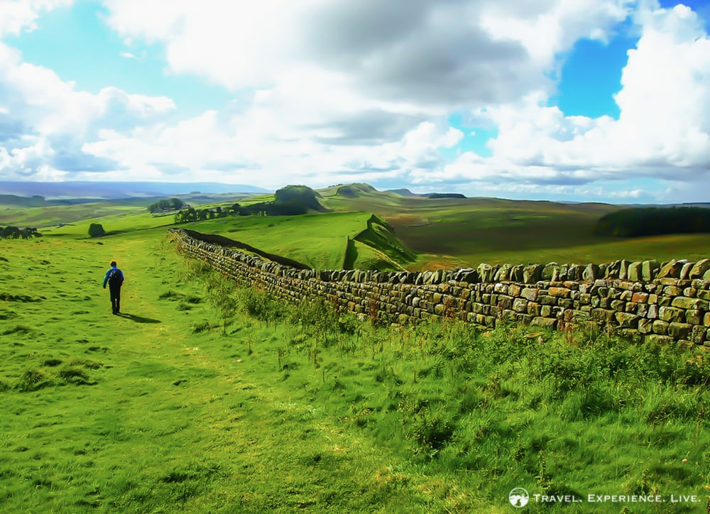 Hiking the Hadrian's Wall Path, Northumberland National Park