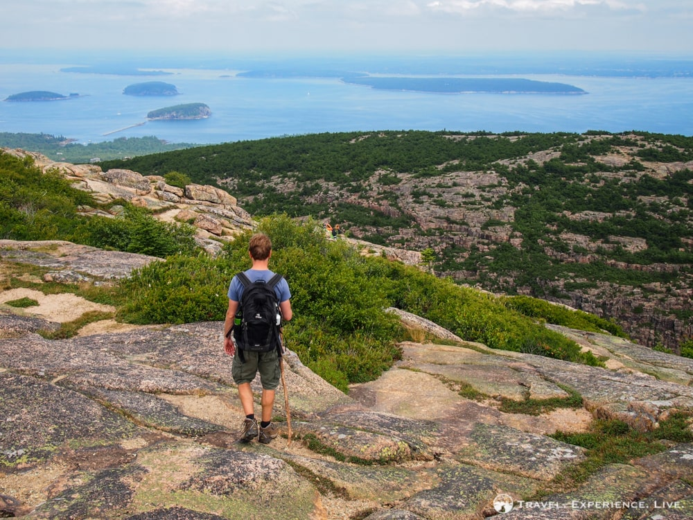 Hiking in Acadia National Park