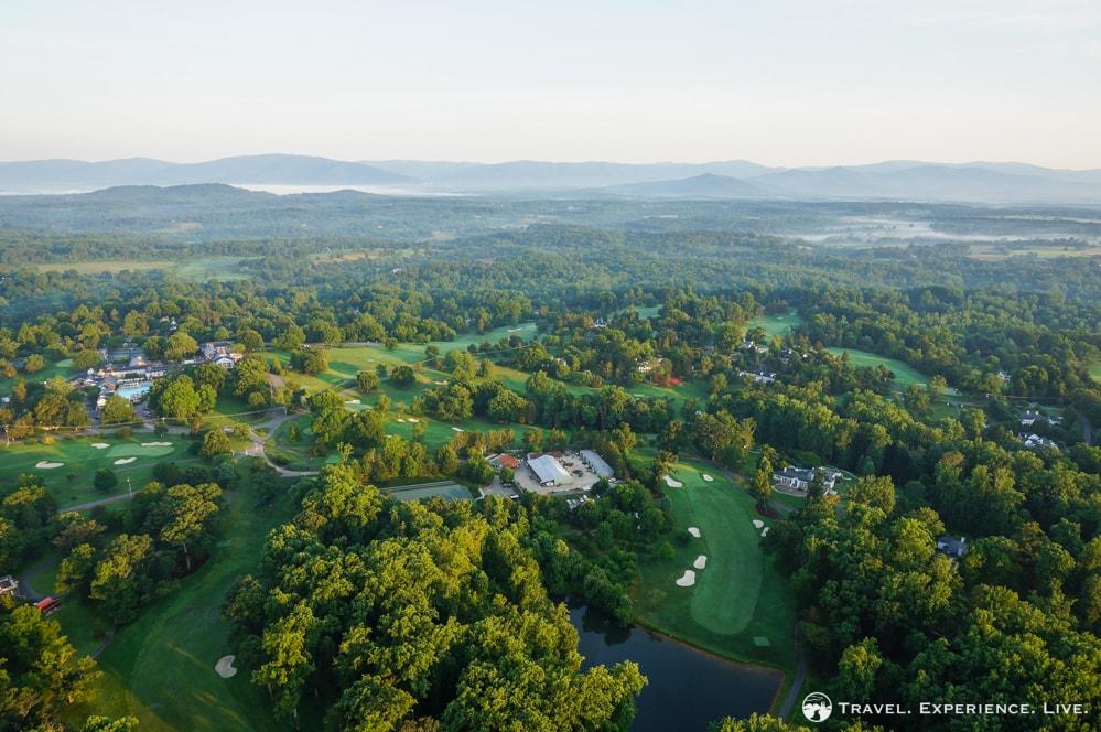 Golf course in Albemarle County, Virginia