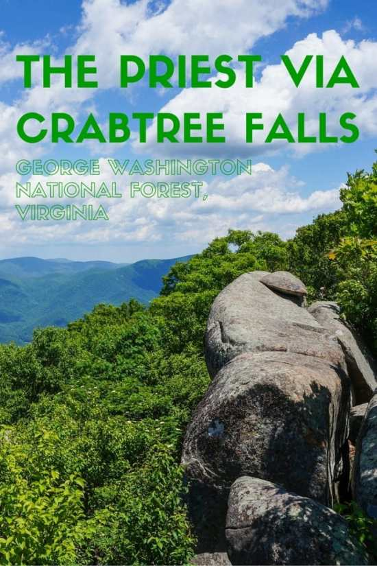Hiking the Priest via Crabtree Falls, George Washington National Forest, Virginia
