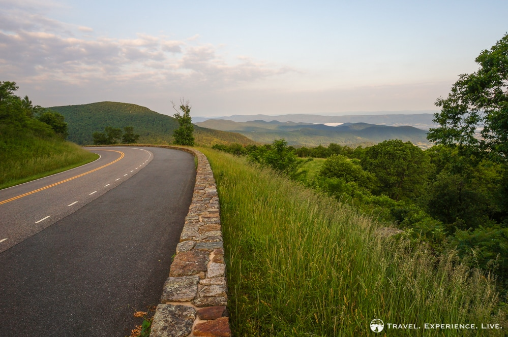 View from Skyline Drive, Shenandoah National Park